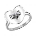Кольцо ЛЮБОВЬ серебро