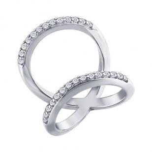 Двойное кольцо LINES 94011189 фото