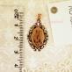 Золотая нательная икона св. Елена
