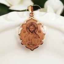 Икона золотая Господь Вседержитель