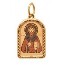 Нательная икона с именем святого покровителя (на выбор)