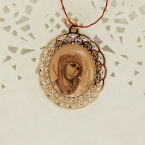 Золотой образок Святого Покровителя