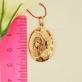 Иконка - образок из золота со Святой Покровительницей
