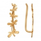 Каффы из золота со стрекозами