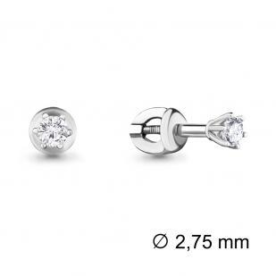 Классические золотые гвоздики с бриллиантами 941352 фото