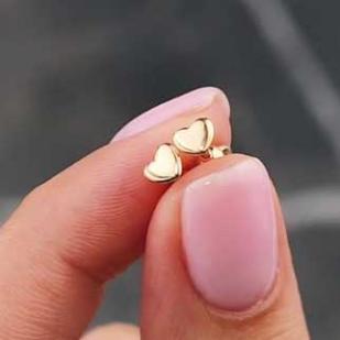 Золотые сердечки гвоздики фото