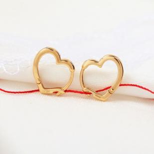 Сердечки с бриллиантами 23971-100 фото