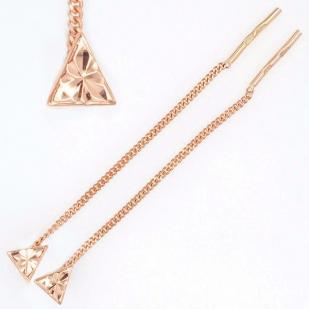 Золотые протяжки Треугольник фото