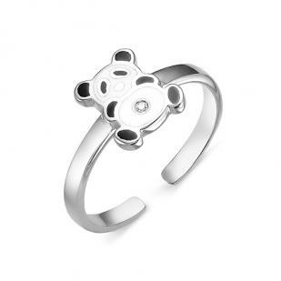 Детское кольцо Панда фото