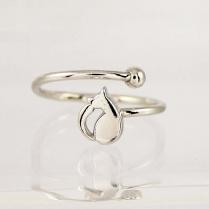 Серебряное кольцо Кисуля