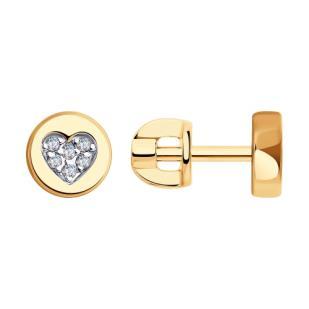 Золотые гвоздики сердечки 028771 фото