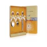 Набор с эмалью детских  столовых приборов Мишка с ножом