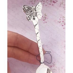 Серебряная ложечка с Бабочкой