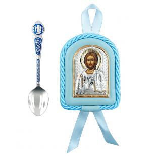 Крестильный набор для мальчика Господь Вседержитель фото