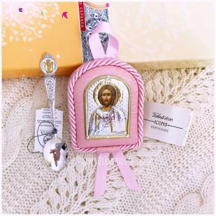 Крестильный набор для девочки Господь Вседержитель фото