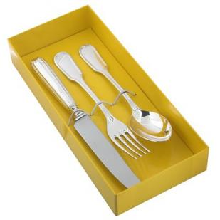 Десертный набор Модерн из трех предметов (юниор) фото