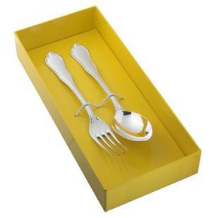 Десертный набор Рококо из двух предметов (юниор) фото